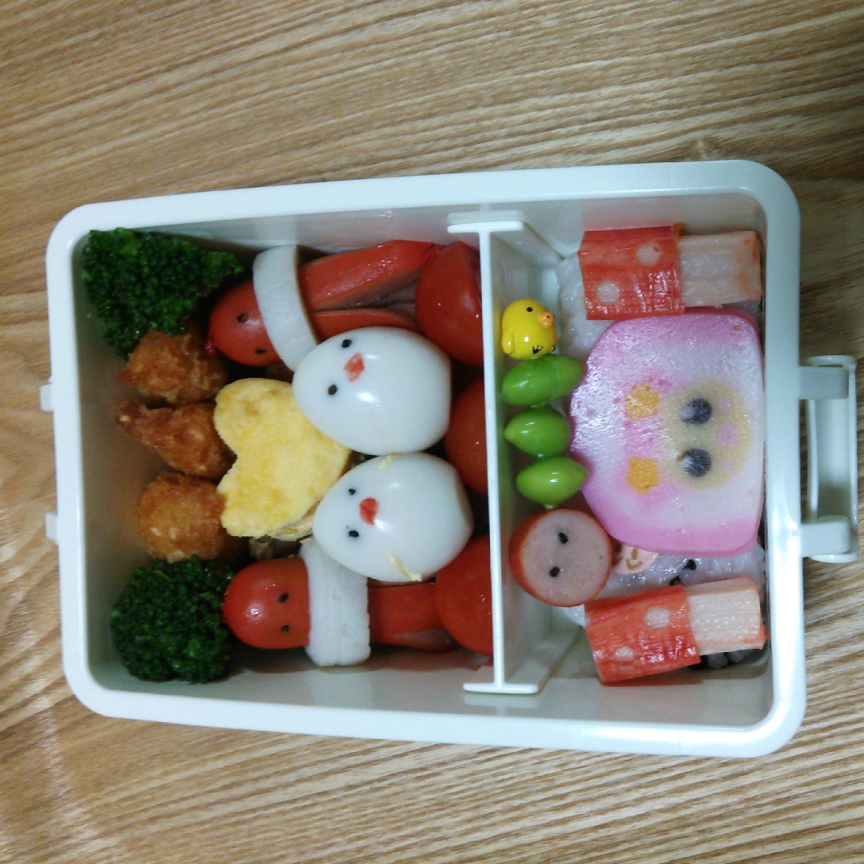 3歳5ヶ月の遠足の弁当(覚書)